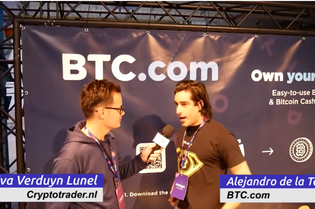VIDEO: Team Cryptotrader.nl Chainges.co – Alejandro de la Torre van BTC.com